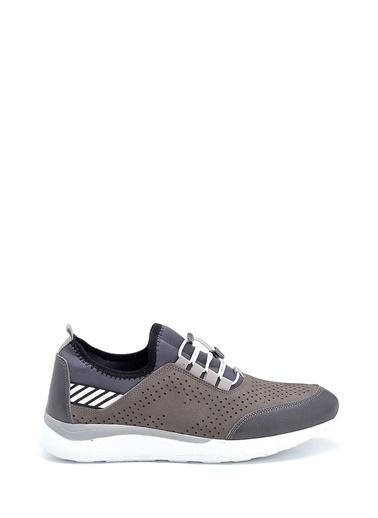 Derimod Erkek Ayakkabı(4031-058) Sneaker Gri